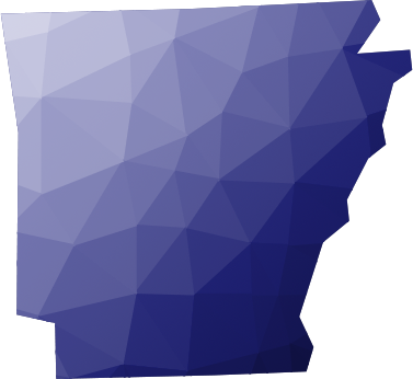 State of Arkansas shape