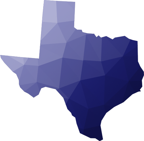 State of Texas shape
